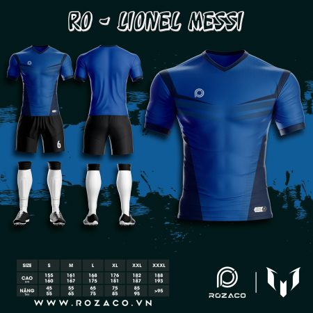 Quần áo bóng đá không logo thiết kế HZ 742