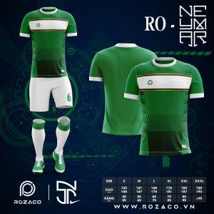 Áo đấu bóng đá không logo màu xanh lá HZ 768