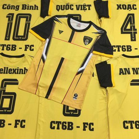 áo đấu không logo Pogba màu vàng