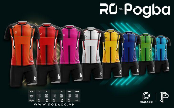 Full mẫu áo không logo Pogba mới nhất