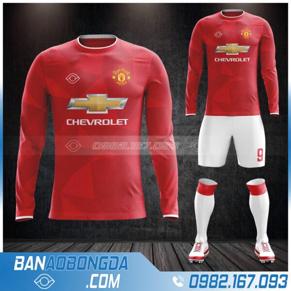 áo bóng đá clb MU dài tay mới nhất