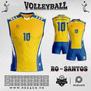 áo bóng chuyền màu vàng mới nhất 2021
