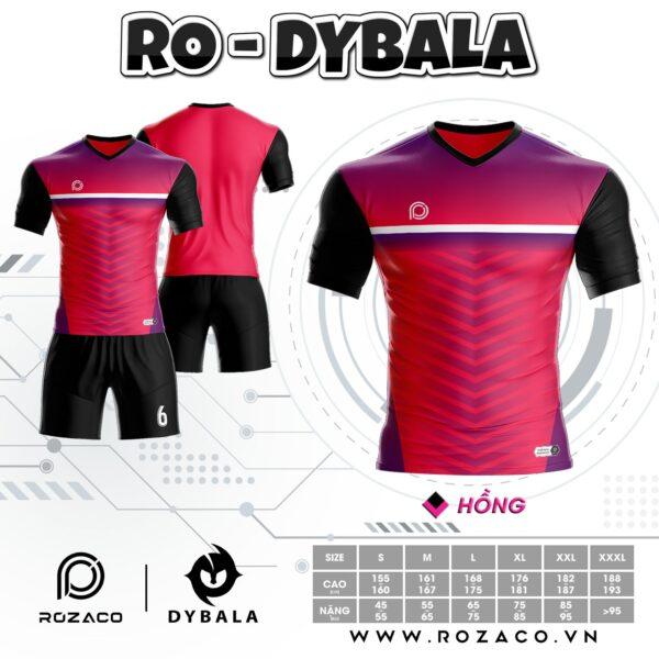 Áo đá bóng không logo thiết kế đẹp