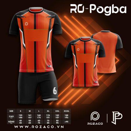 Áo bóng đá không logo Pogba mới nhất