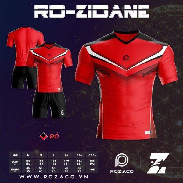 Áo đá bóng không logo giá rẻ màu đỏ