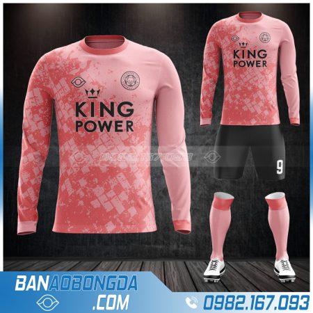Áo bóng đá leicester City màu hồng đẹp