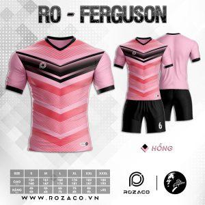 Áo Đấu Bóng Đá Màu Hồng Mới Nhất 2021 Ferguson