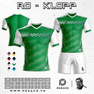 Quần áo bóng đá không logo đơn giản đẹp