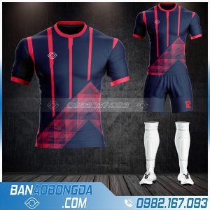 áo bóng đá không logo 2021 màu tím than