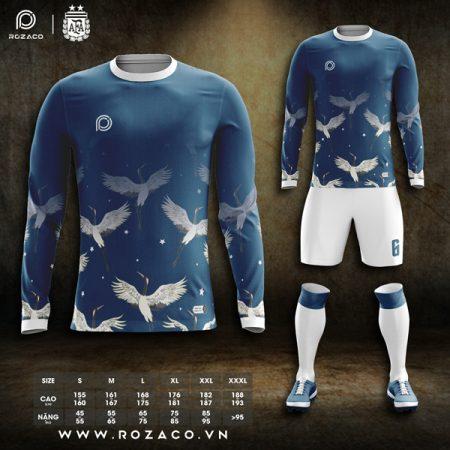 Áo bóng đá k logo dài tay vải Thái Lan