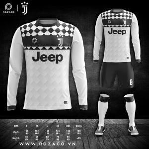 Áo Juventus dài tay màu trắng đẹp