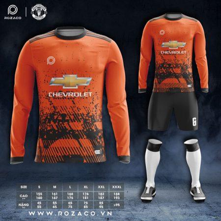 Áo không logo Adidas dài tay màu cam