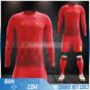 Mẫu áo đội tuyển Việt Nam dt màu đỏ