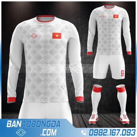 áo đội tuyển Việt Nam dt màu trắng
