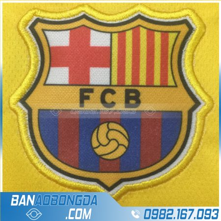 Thêu logo Barcelona đẹp
