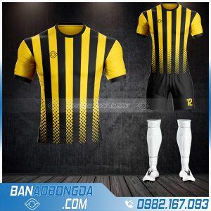 Áo đá bóng không logo màu vàng mới nhất 2021 2022