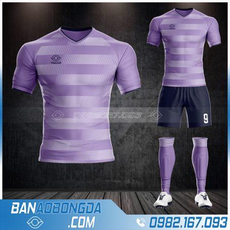 Áo đá banh k logo 2021 màu tím xịn nhất