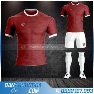 Áo bóng đá không logo Hacazi màu bã trầu HZ 19