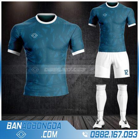 Áo bóng đá không logo thiết kế màu xanh lý cực chất HZ 24