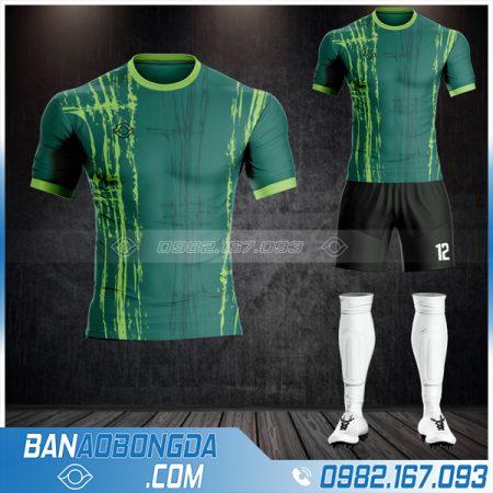 Mẫu áo bóng đá không logo Hacazi thiết kế HZ 36