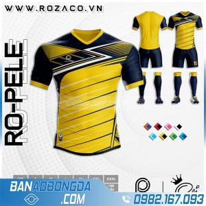 Quần áo đá bóng k logo màu vàng giá rẻ HZ 45