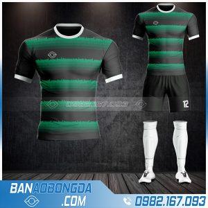 Áo đá banh không logo 2021 màu đen đẹp HZ 41