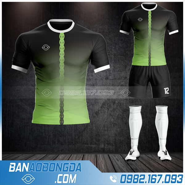 Mẫu áo đá bóng không logo đẹp ở Bắc Giang