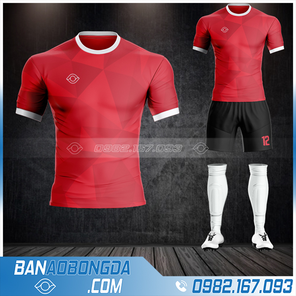 Áo đá bóng không logo thiết kế đẹp tại Hà Nam HZ 59