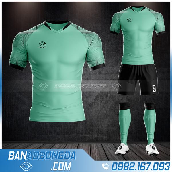 mẫu thiết kế áo đá bóng không logo đẹp HZ 62