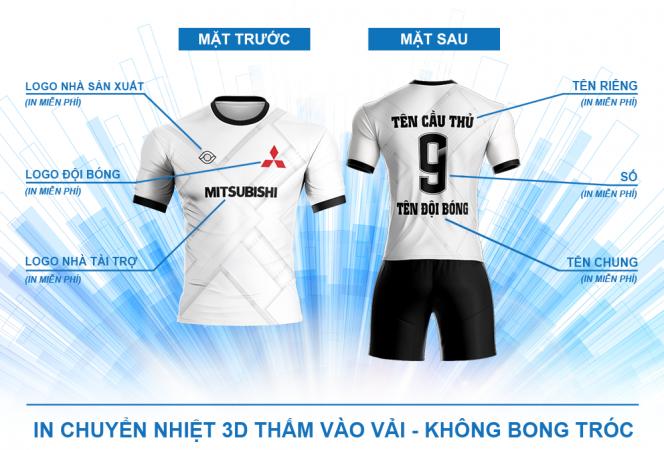 In ấn áo bóng đá nhanh và đẹp