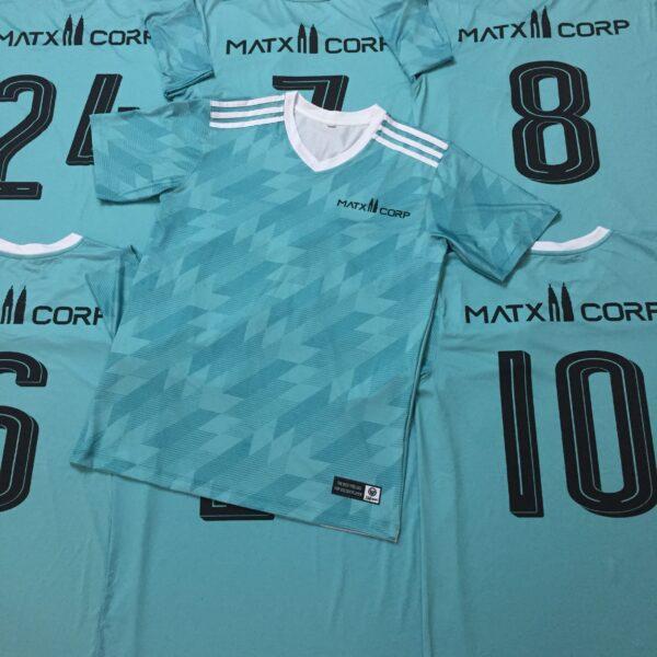Mẫu in áo bóng đá đẹp màu xanh lá