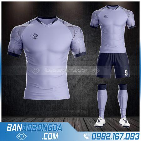 Áo bóng đá không logo màu tím mới nhất