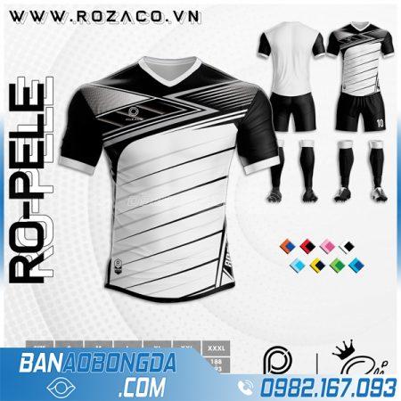 Áo bóng đá không logo màu trắng đẹp